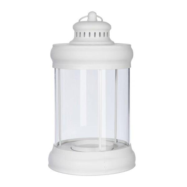 Lampion Round White, 21x21x36 cm
