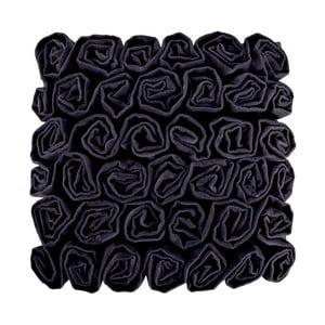 Czarna poduszka Ragged Rose Rufus