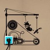 Naklejka Hamster Treadmill
