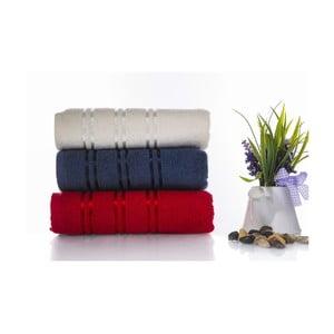 Zestaw 3 ręczników Becky V1, 50x90 cm