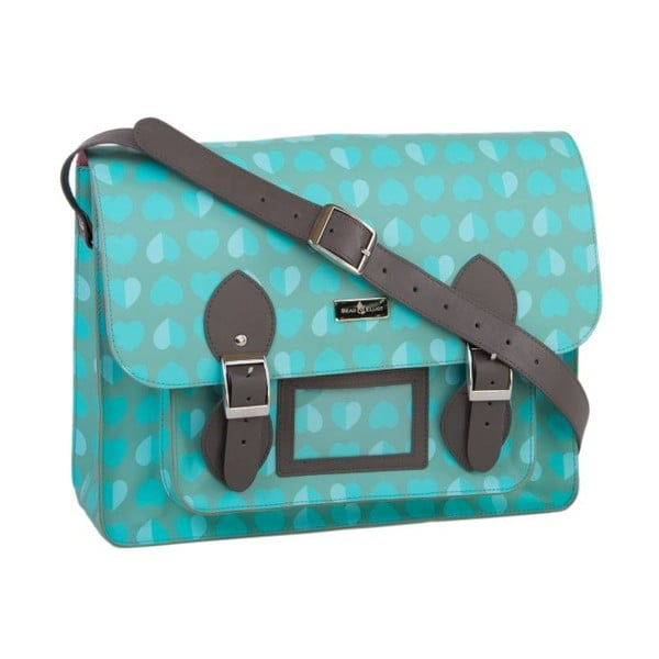 Torebka Beau&Elliot Aqua Satchel