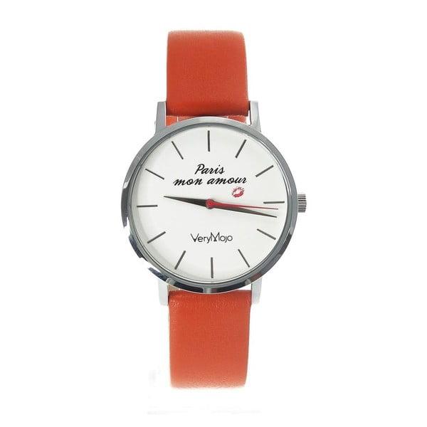 Zegarek VeryMojo Paris Mon Amour, pomarańczowy