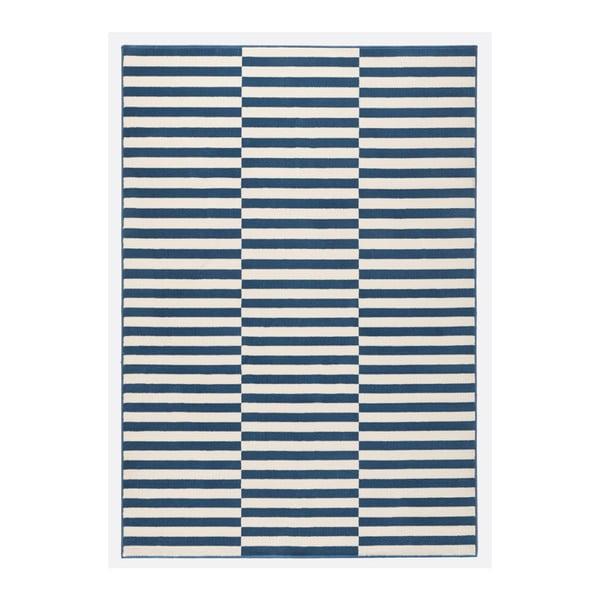 Niebieski chodnik Hanse Home Gloria Panel, 80x300 cm