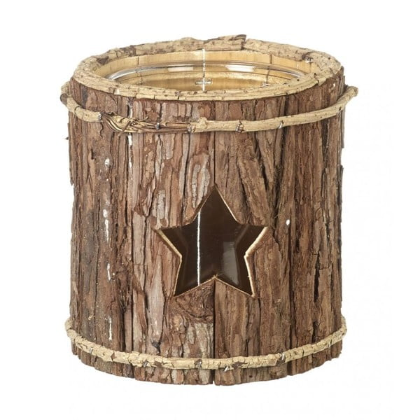 Lampion Star Wood