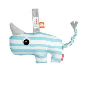 Niebiesko-biała zabawka z pozytywką Done by Deer Antee