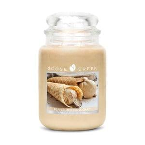 Świeczka zapachowa w szklanym pojemniku Goose Creek Słodkie masło orzechowe, 0,68 kg