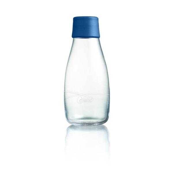 Ciemnoniebieska butelka ze szkła ReTap z dożywotnią gwarancją, 300 ml