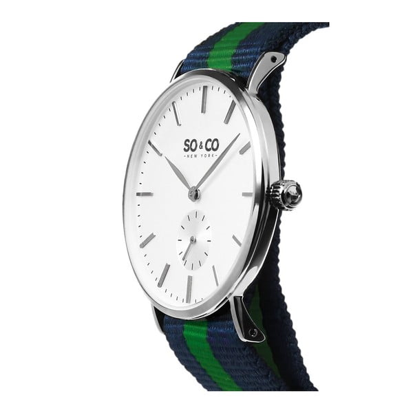 Zegarek męski Madison Stripe Green/Blue