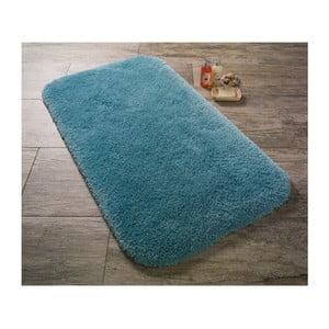 Turkusowy dywanik łazienkowy Confetti Miami, 50x57 cm