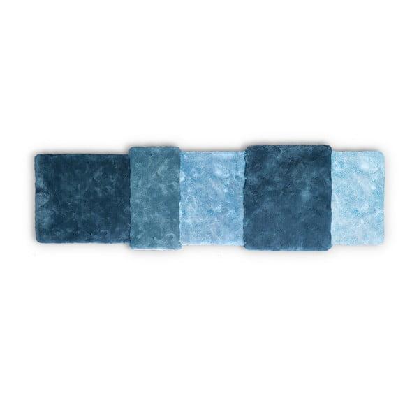 Dywan Over Stripe Emko, niebieski