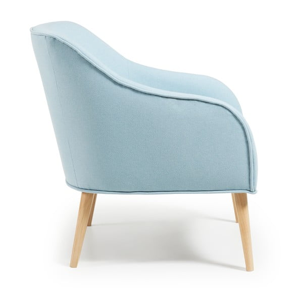 Fotel La Forma Lobby, jasnoniebieski