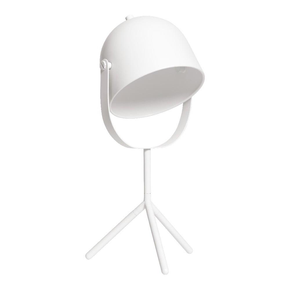 Biała lampa stołowa Flexa Monty