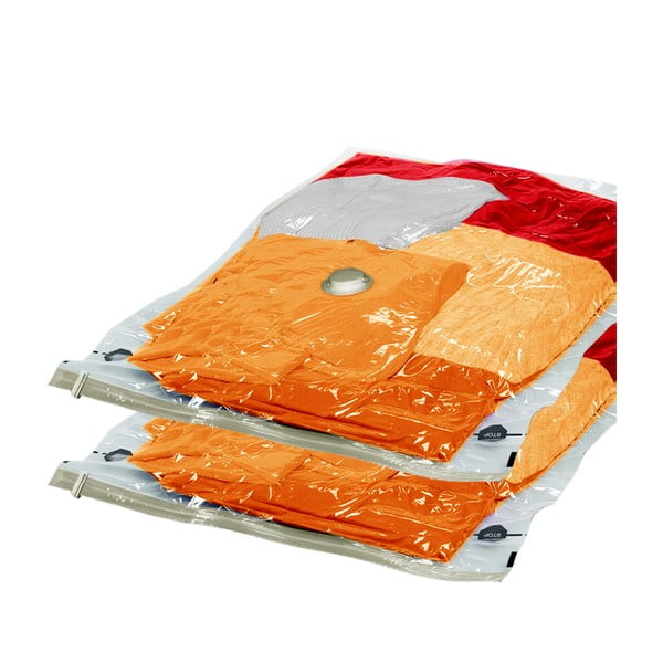 Zestaw 2 torebek próżniowych na ubrania Ordinett Large