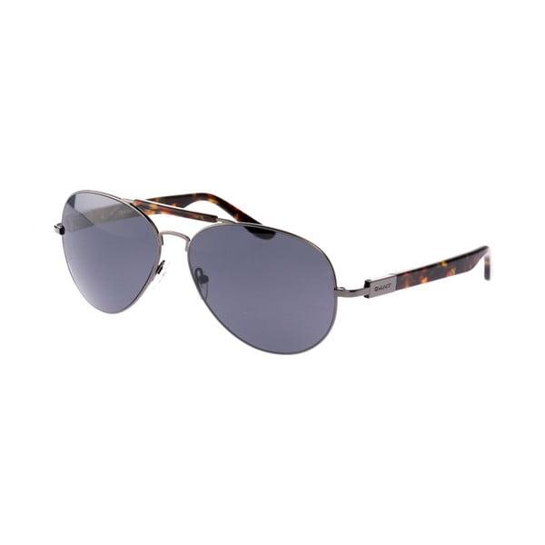 Męskie okulary przeciwsłoneczne GANT Gun Brown