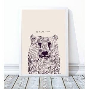 Oprawiony plakat Little Wild, 40x50 cm