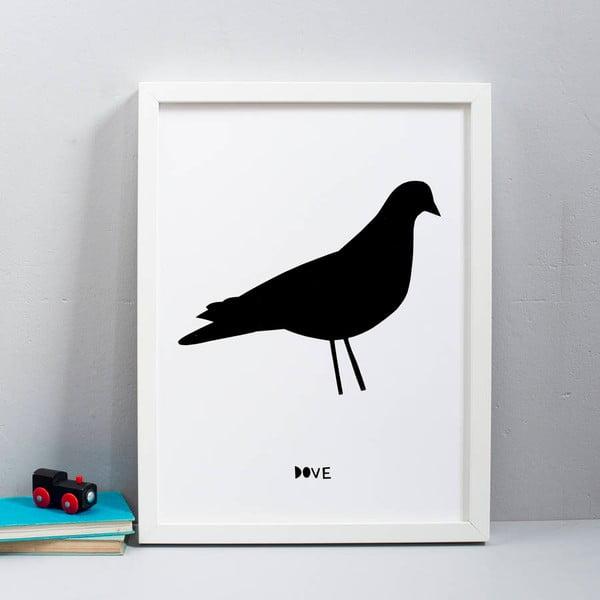 Plakat Karin Åkesson Design Dove, 30x40 cm