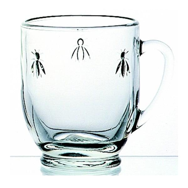 Kubek szklany La Rochère Abeille, 365 ml