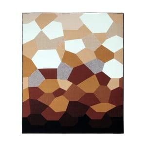 Karmelowo-brązowy dywan Prime Pile Abstract, 60x110 cm