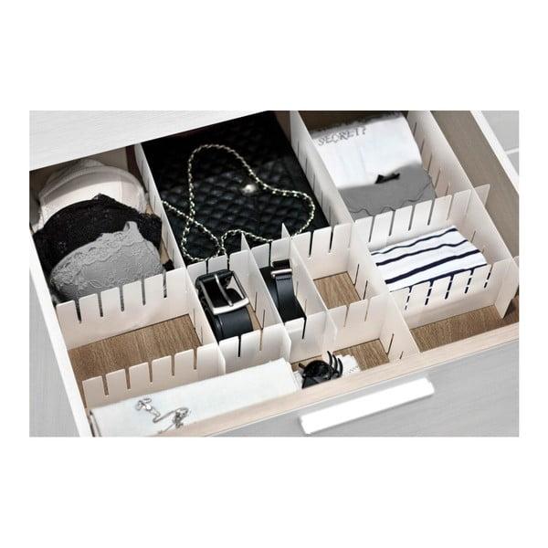 Organizer do szuflady z 8 przegródkami Domopak Living