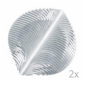 Zestaw 2 szklanych talerzy Nachtmann, średnica 27 cm