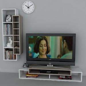 Stolik telewizyjny First TV Stand White/Cordoba