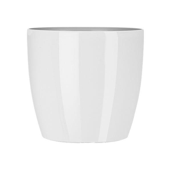 Doniczka Casa Brilliant 18 cm, biała