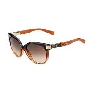 Okulary przeciwsłoneczne Jimmy Choo Erin Orange/Brown