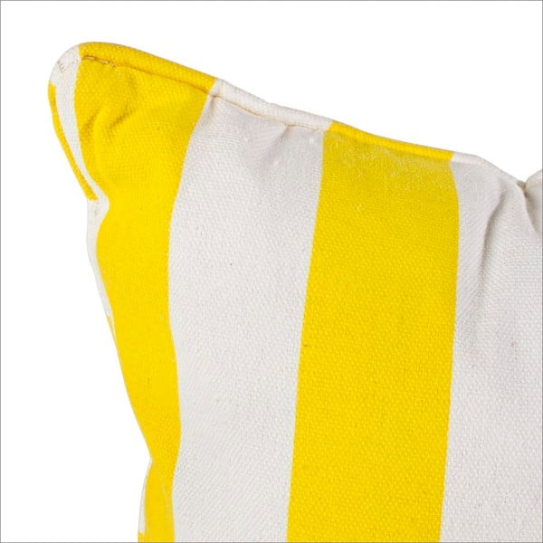Poduszka Smile, żółta
