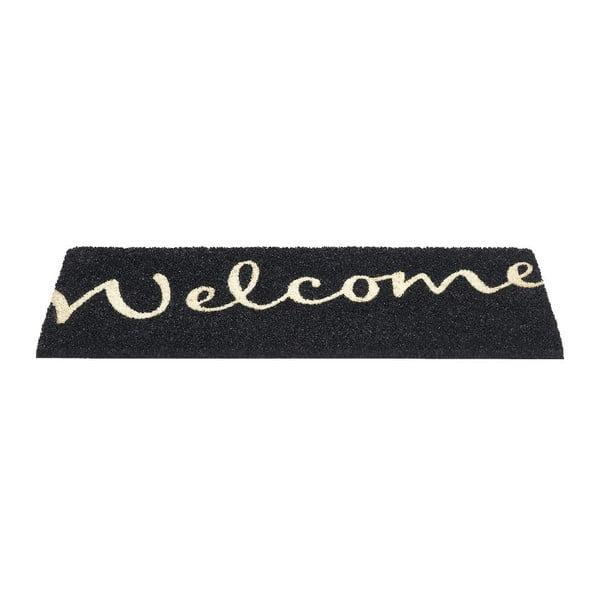 Wycieraczka Hamat Ruco Welcome Black, 26x75cm