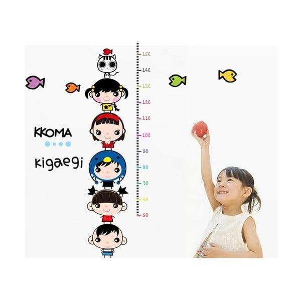 Naklejka - miarka wzrostu Kids