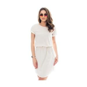 Kremowa sukienka bawełniana Lull Loungewear Palmera, rozm.XS