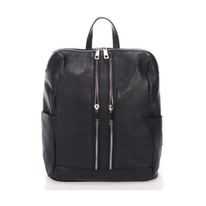 Czarny plecak Markese Cipria
