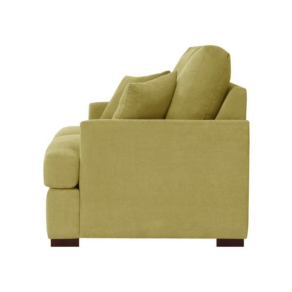 Żółta sofa trzyosobowa Jalouse Maison Irina