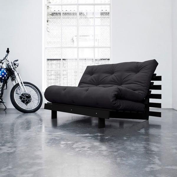 Sofa rozkładana Karup Roots Wenge/Gray