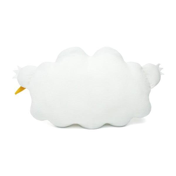 Pluszowa poduszka White Ricestorm XL