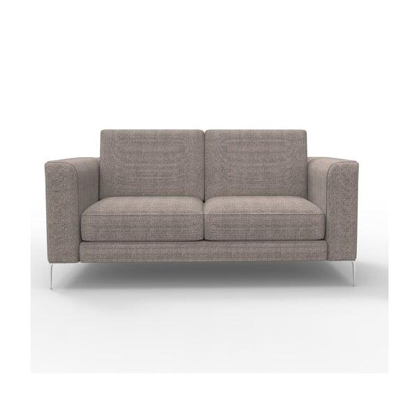 Sofa dwuosobowa Miura Musa, pokrycie piaskowobrązowe, tkanina