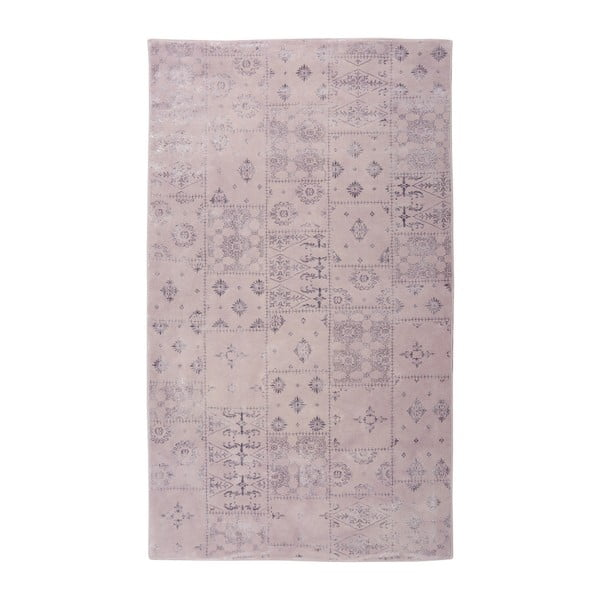 Fioletowy dywan Floorist Mosaic, 80x300 cm