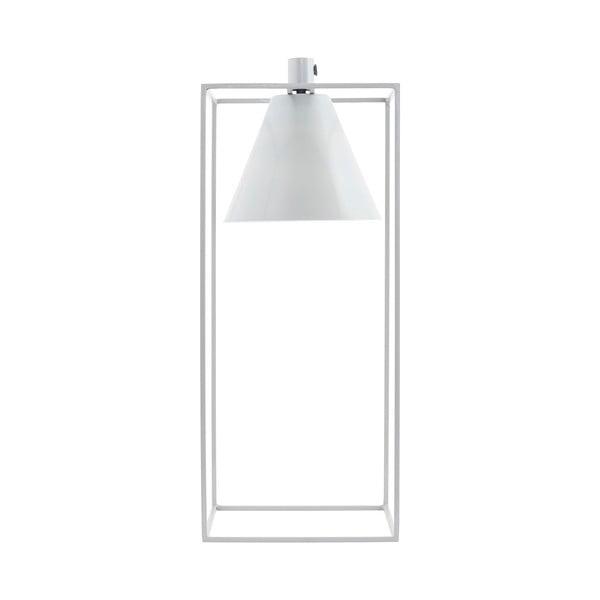Lampa stołowa Kubix, biała