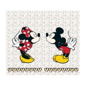Foto zasłona AG Design Mickey & Minnie, 160x180cm