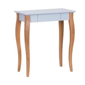 Jasnoszare biurko Ragaba Lillo, dł. 65 cm