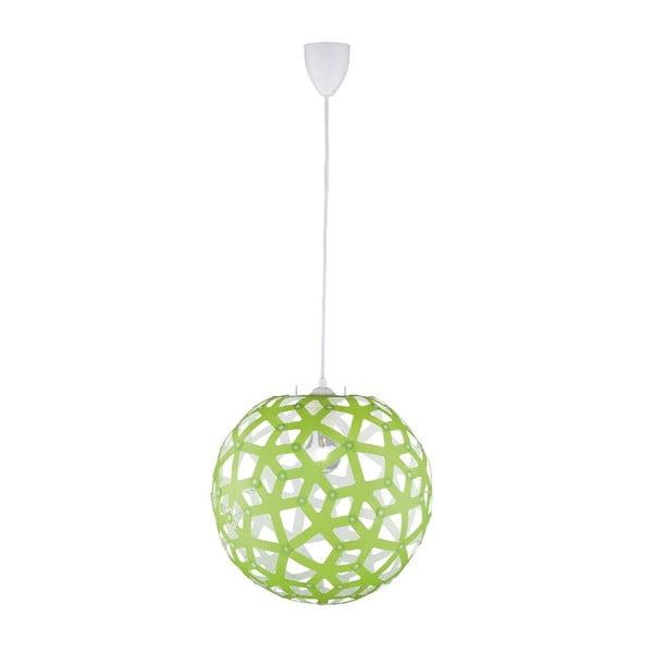 Lampa wisząca Uranus, zielona