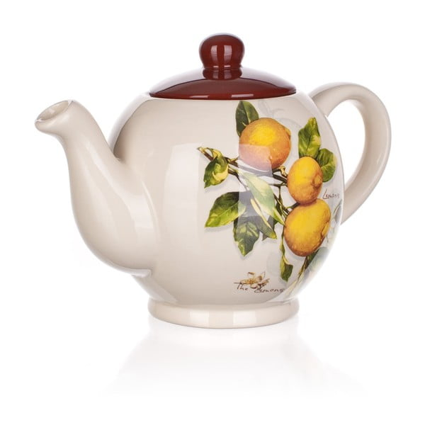 Dzbanek ceramiczny Banquet Lemon, 1200 ml