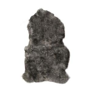 Szara skóra owcza z krótkim włosiem Dark tops, 90x60 cm