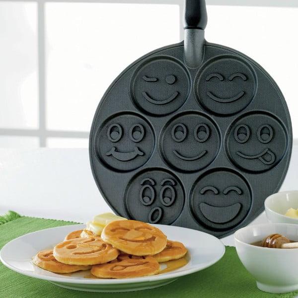 Patelnia do 7 placuszków z uśmieszkami Nordic Ware emoticons