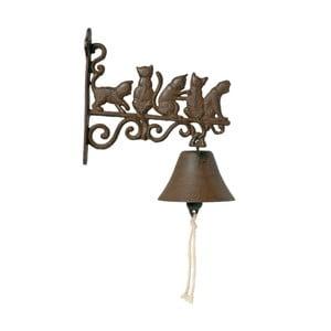 Dekoracyjny dzwonek do drzwi AnticLine Cats