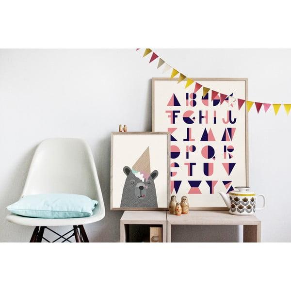 Plakat Michelle Carlslund I Love Icecream, 30x40cm