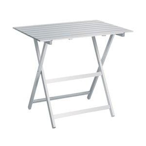 Biały stolik składany Colombo New Scal King, 60 x 80 cm