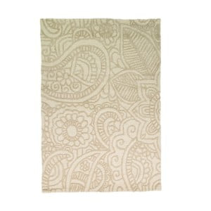 Dywan wełniany Mendhi, 120x170 cm, naturalny