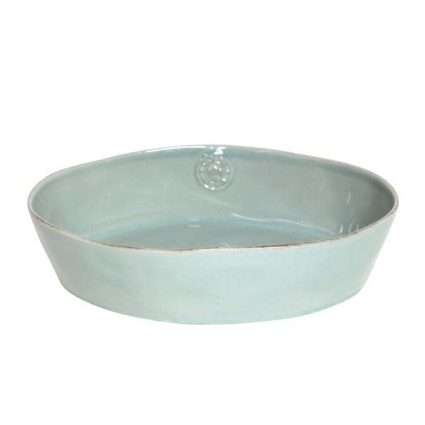 Ceramiczne naczynie do zapiekania Nova 30 cm, turkusowe