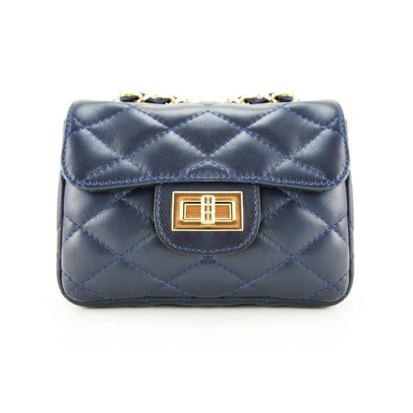 Skórzana torebka Custina Blue